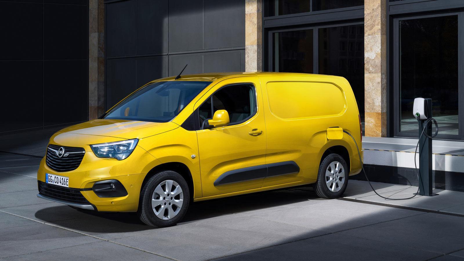 Elektryk Opel Combo-e Cargo dostawczy użytkowy