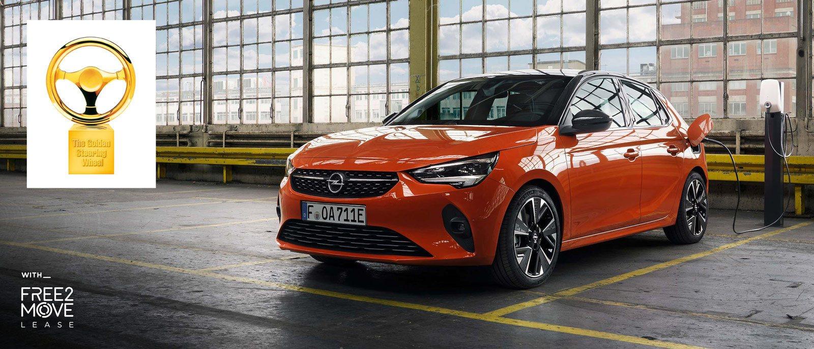 Elektryk Opel Corsa-e Złota Kierownica, Free2Move Lease