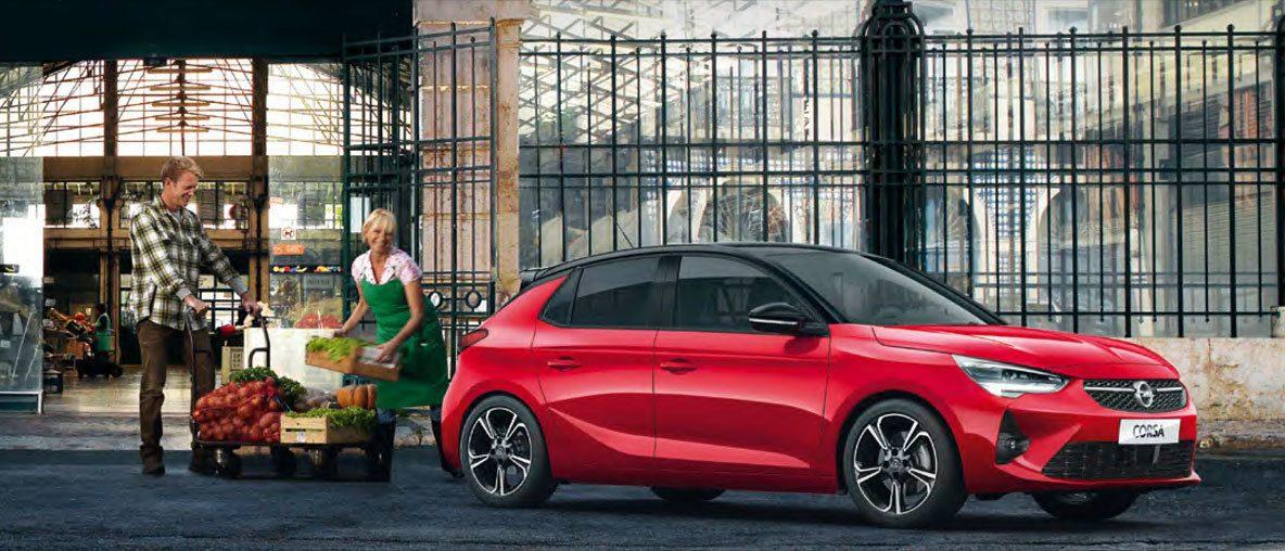 Opel Corsa Van konwertowana