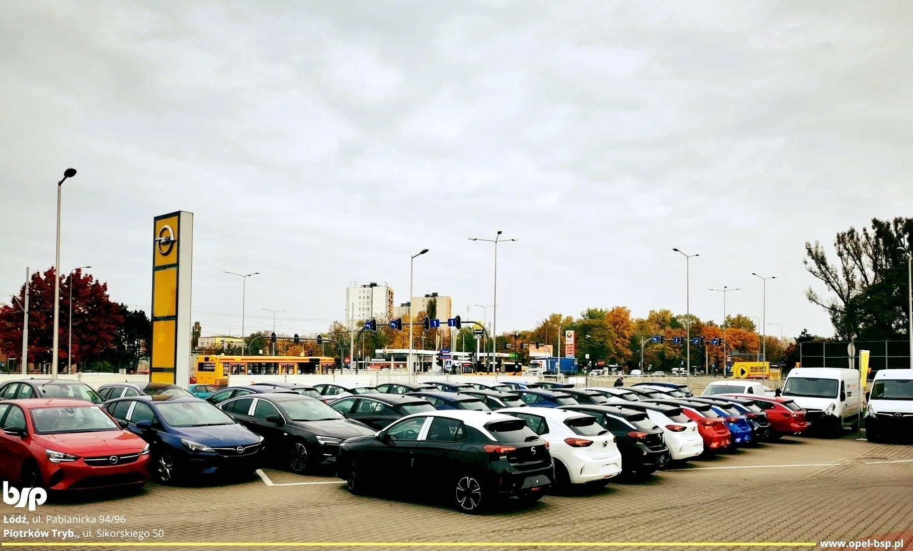Samochody nowe od ręki Opel Łódź