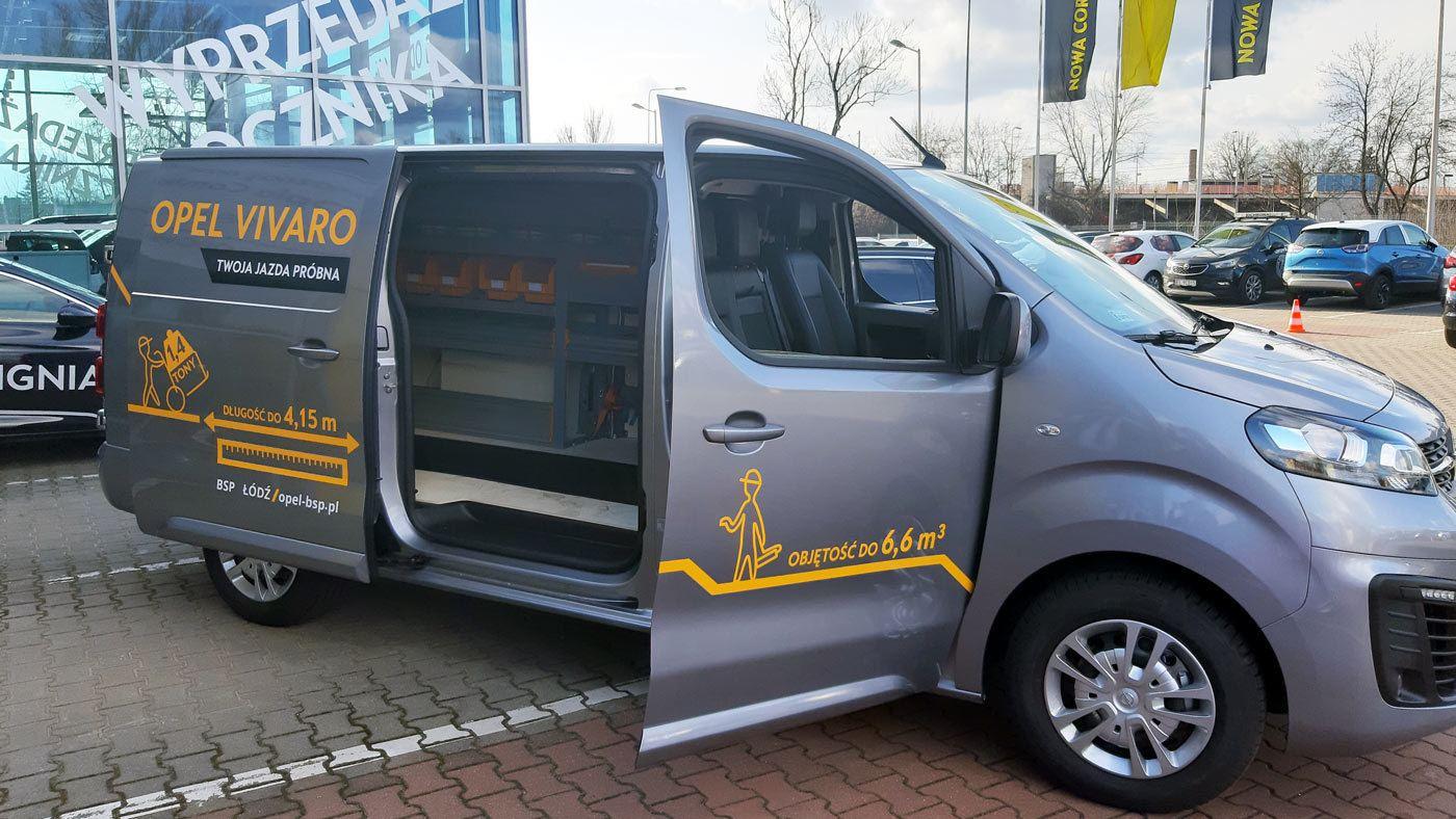 Opel Vivaro zabudowa serwisowa