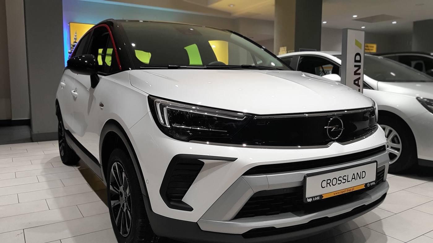 Opel Crossland GS Line, panel Opel Vizor