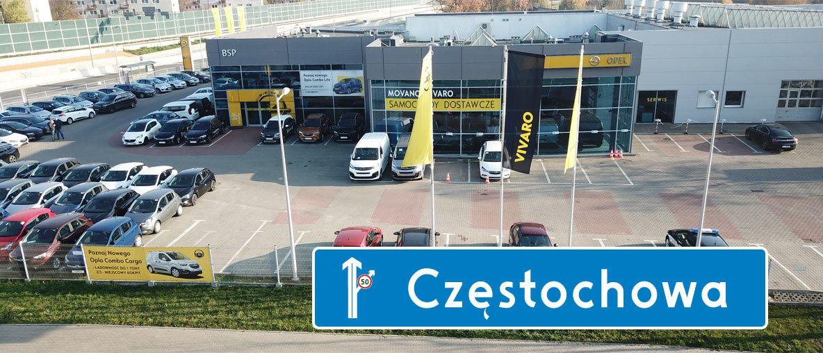 Opel Częstochowa salon serwis