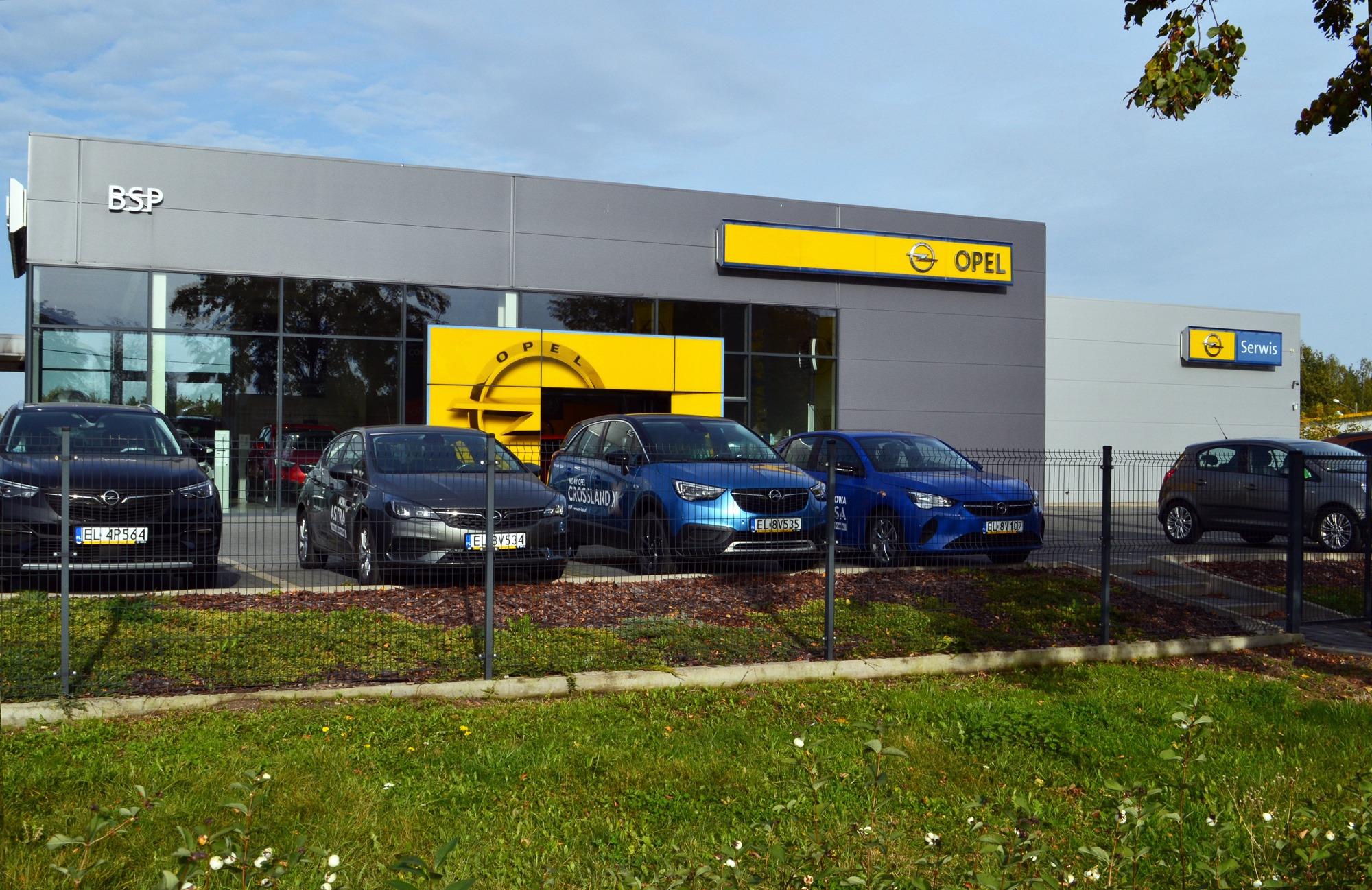 Salon Opel BSP w Piotrkowie