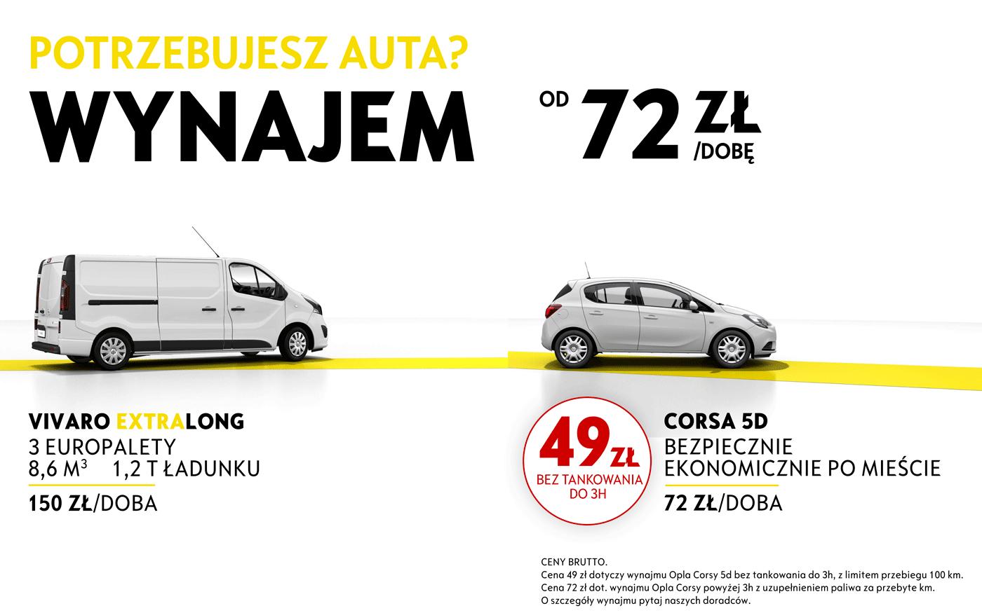 Wynajem samochodu zastępczego Łódź