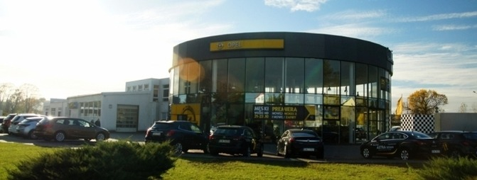 Salon Centrum TMT Opel Świdnica