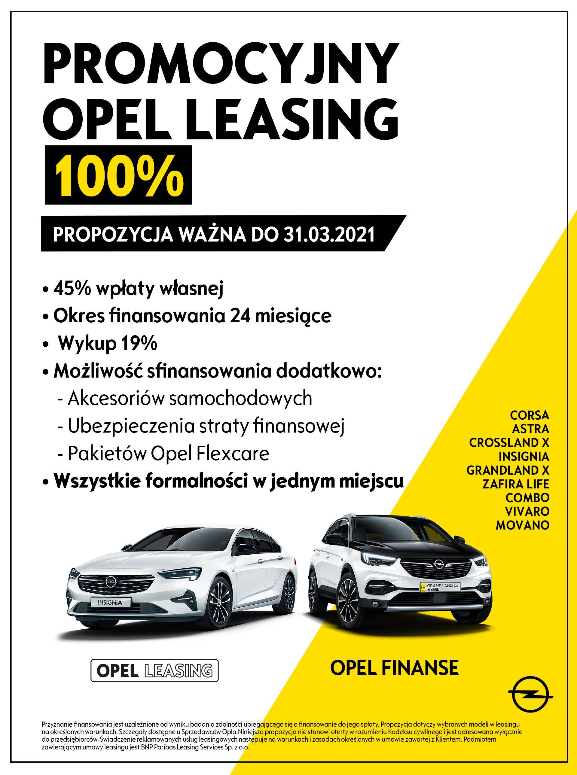 Promocyjny Leasing