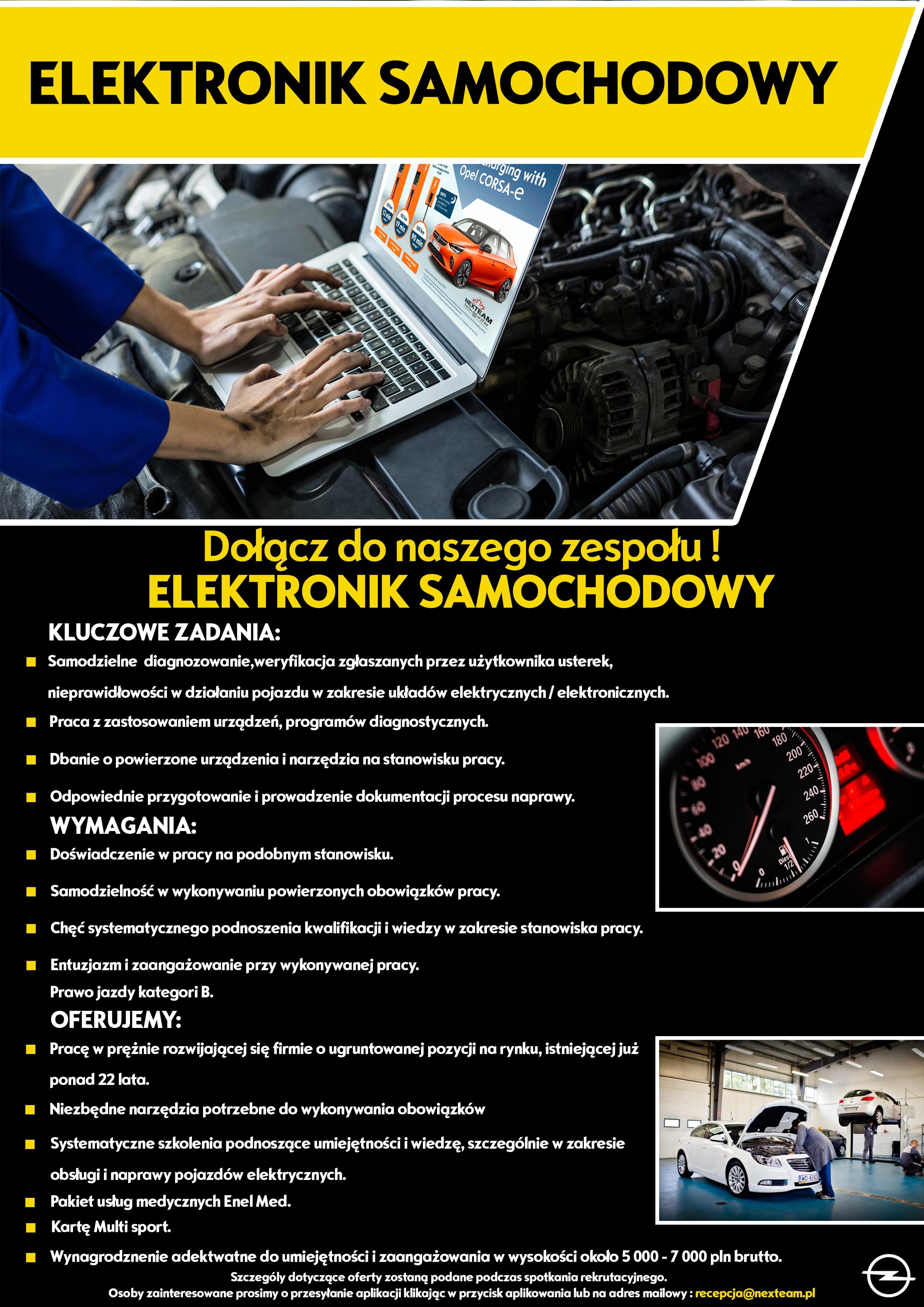 Elektronik samochodowy