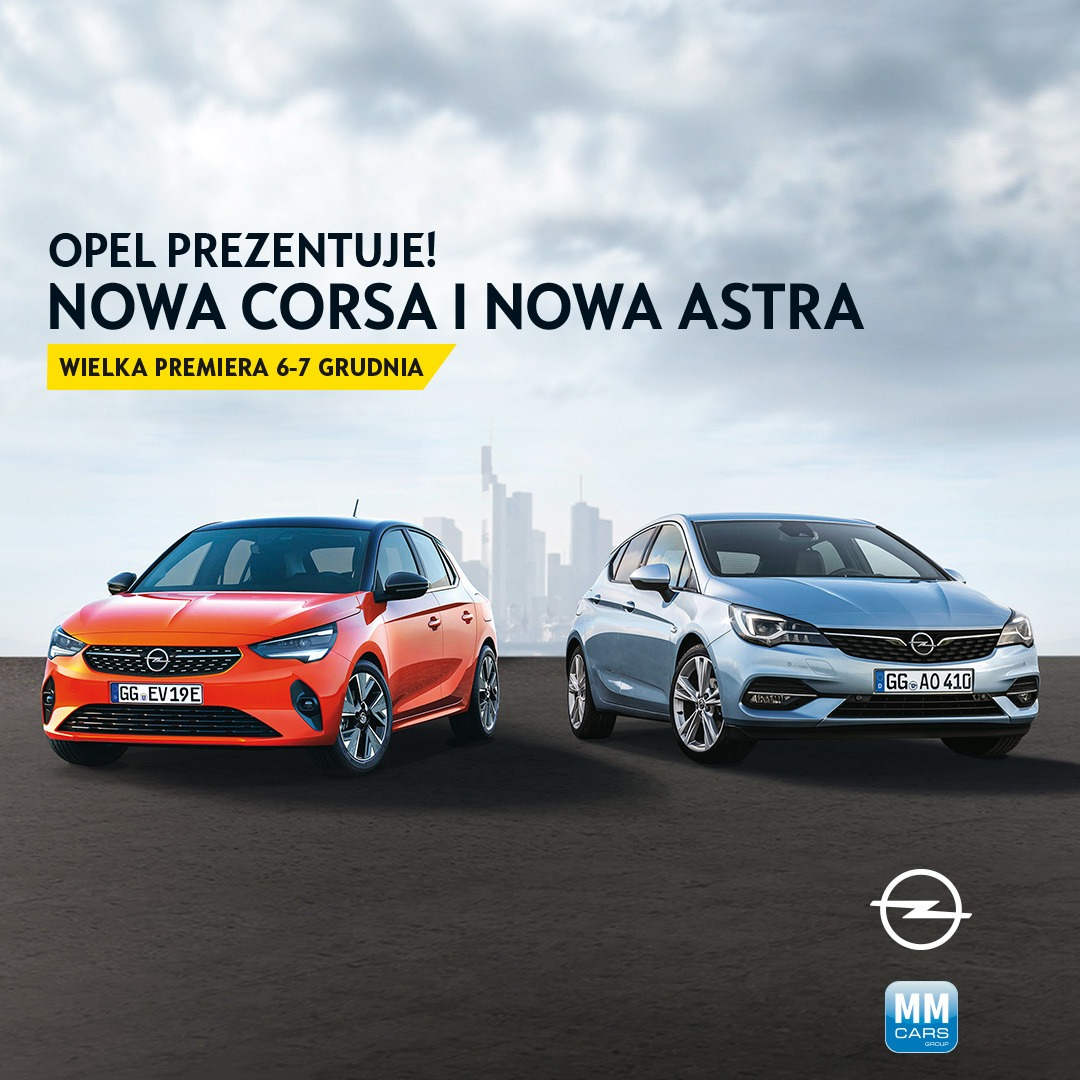 Nowa Astra i nowa Corsa - dni otwarte 6/7 grudnia 2019