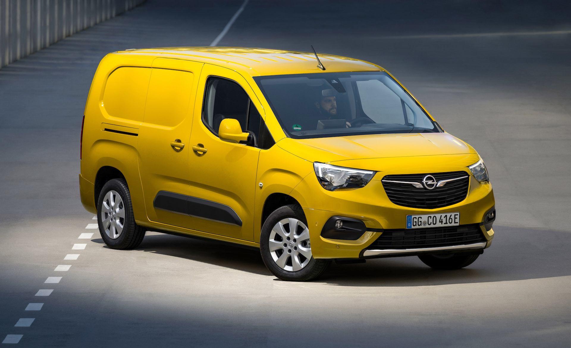 Bezkompromisowa e-mobilność: nowy kompaktowy van Opel Combo-e