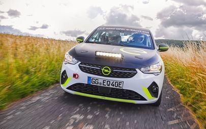 Opel Corsa-e Rally: bezpieczeństwo na pierwszym miejscu