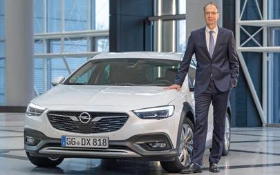 "Michael Lohscheller, dyrektor generalny firmy Opel, ""Menedżerem Roku 2019"""