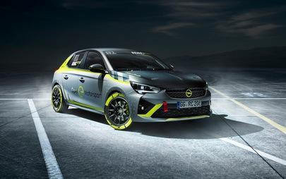 Prezentacja ADAC Opel e-Rally Cup na Salonie Motoryzacyjnym w Essen