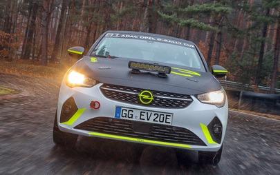 Program rozwoju samochodu Opel Corsa-e Rally w toku