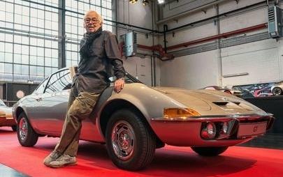 Erhard Schnell, projektant samochodów marki Opel, zmarł w wieku 92 lat