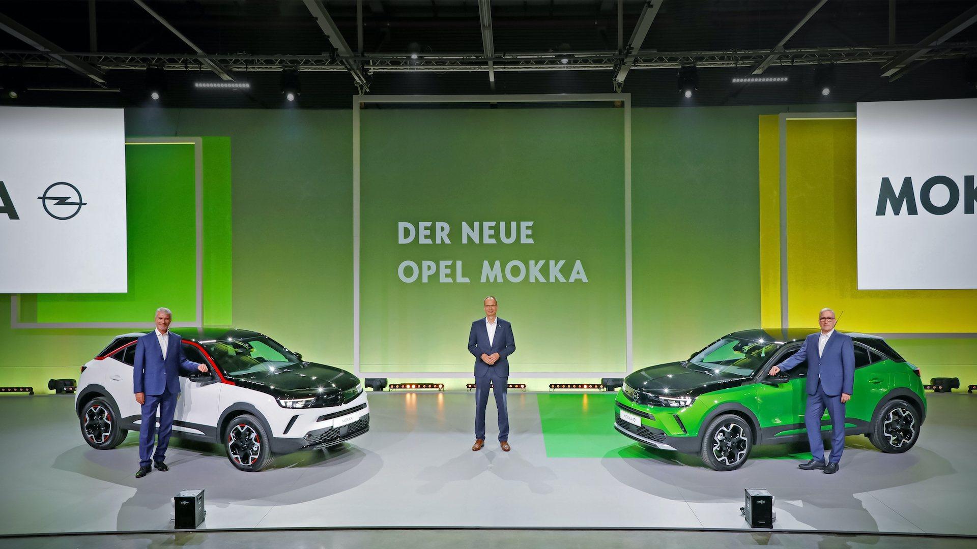 Światowa premiera: dyrektor generalny Michael Lohscheller prezentuje nowego Opla Mokkę