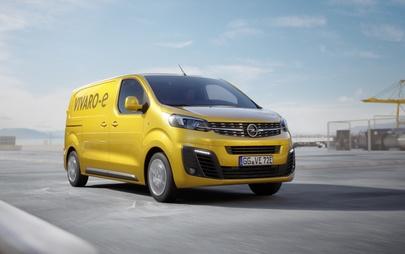 Opel Vivaro e zadebiutuje w 2020 r.: udany lekki pojazd użytkowy będzie dostępny w wersji elektrycznej