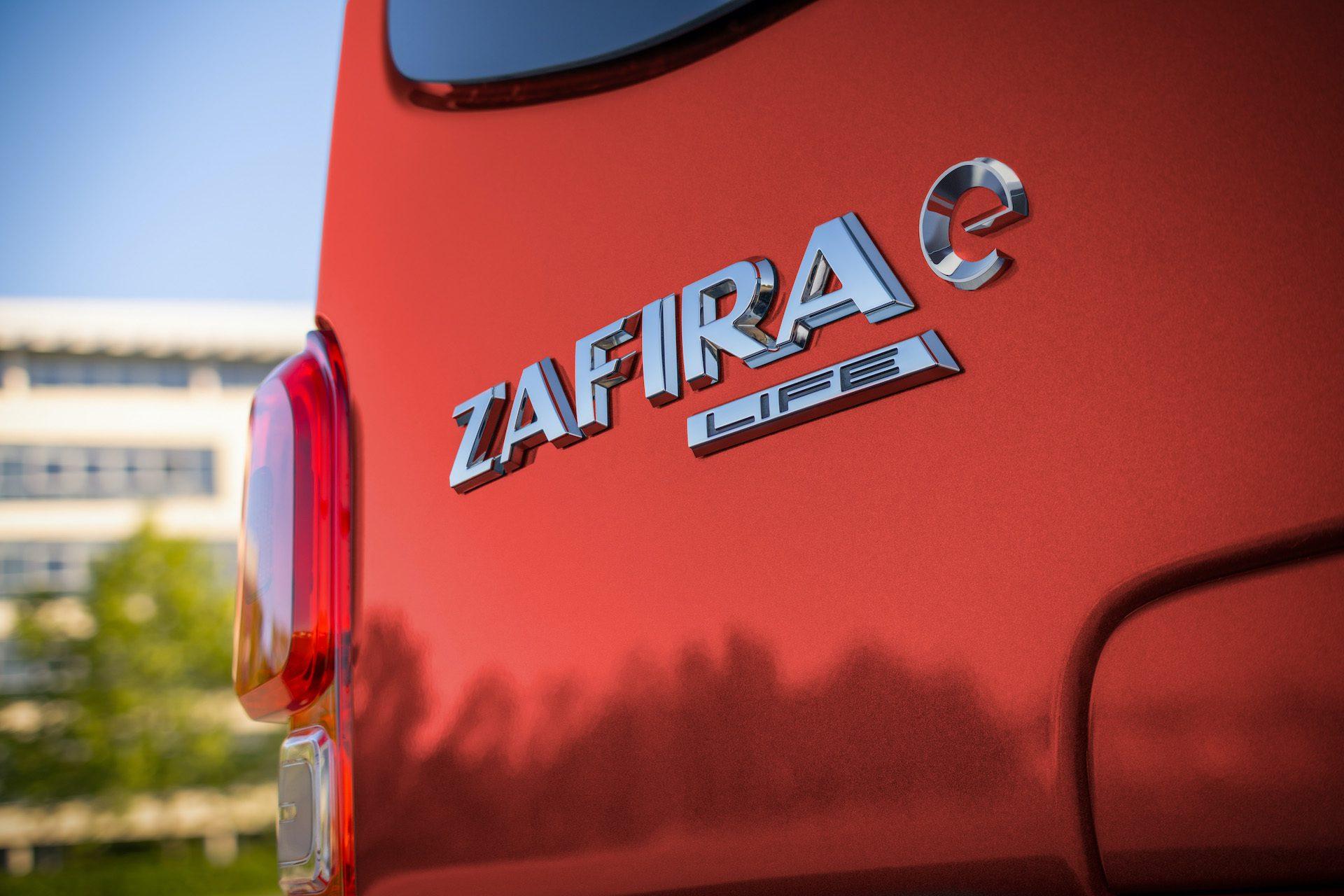 W pełni elektryczna Zafira-e Life dostępna już w sprzedaży w Polsce