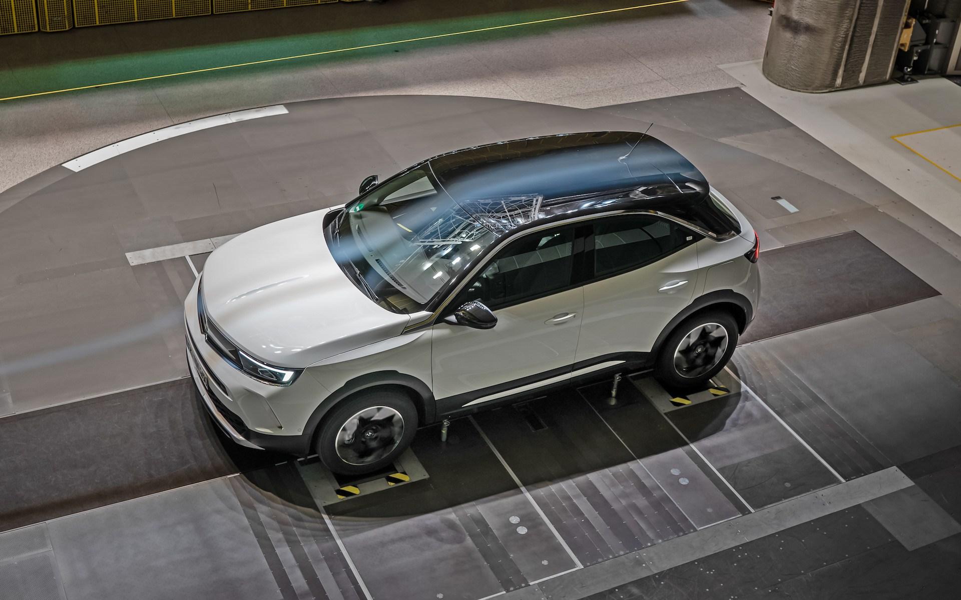 Nowy Opel Mokka: znakomite właściwości aerodynamiczne sprzyjają efektywności i obniżeniu emisji
