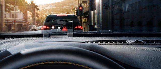 Wyświetlacz projekcyjny kierowcy (HUD)