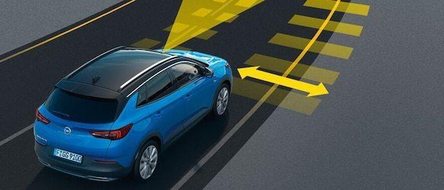 Układ utrzymania na pasie ruchu (LKA) i układ ostrzegania o niezamierzonej zmianie pasa ruchu (LDW) oraz układ wykrywania zmęczenia kierowcy (DDS)