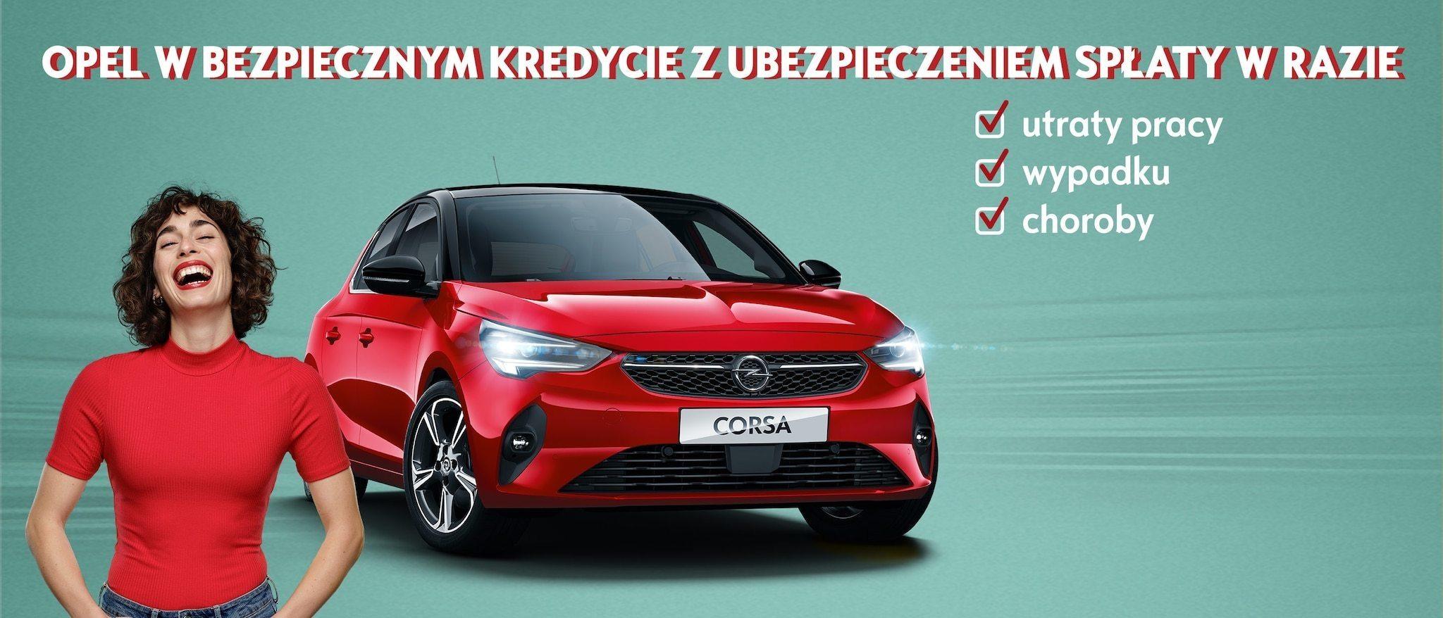 Opel Corsa już od 499 zł/mies.