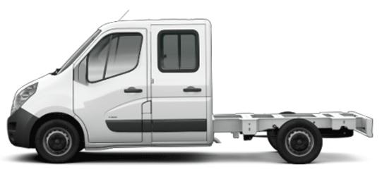 Opel Movano podwozie kabina załogowa