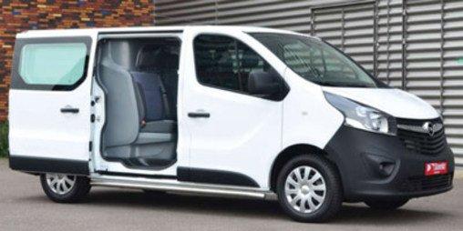 Drugi rząd siedzeń Opel Vivaro